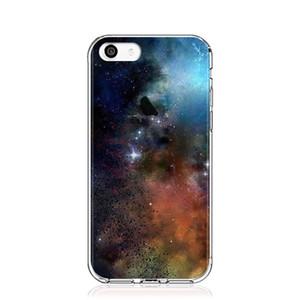 Caso para o iphone 7, Apple iphone 8 criativo TPU pintado caixa do telefone, soft phone case com Wonderful sky landscape-Star Series 02