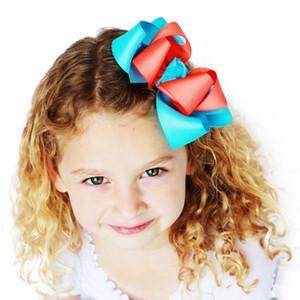14 couleurs enfants Big Bow Épingles À Cheveux Clips Hair Bow Pour Les Filles Bow Boutique Hair Clip Chapeaux Enfants Accessoires De Cheveux de mode