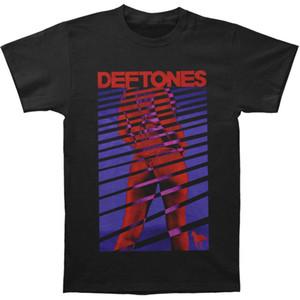 2018 Camisas de Manga Curta de Algodão T Homem Roupas Deftones Blusas T-shirt Da Menina dos homens Tamanho S Para 3XLHighquality T-Shirt