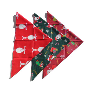 Pet Accessories Christmas Scarf Dog Bandana Dogs Pets Clothing Hond Grooming Decoration Chiens Animaux de Compagnie Accessoires