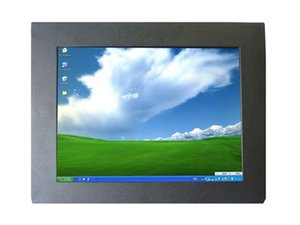 10.4 inç Giriş VGA HDMI VEDIO SKD Açık Çerçeve Monitör ile Dokunmatik Ekran, Metal Kapak Endüstriyel PC Monitör Araba PC Ekran