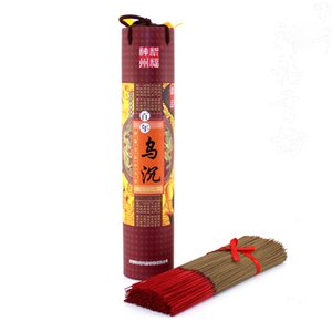 Natural Black Chen Xiang 39cm Bambus Räucherstäbchen Wuchen Räucherstäbchen täglichen Gebrauch für Meditation entspannen oder für Buddha-Anbetung