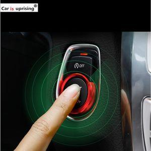 Car Engine Start Stop Anneau système de démarrage sans clé Bouton Décoration Couvre-styling voiture pour BMW 4 3 2 1 série F30 X1 F48