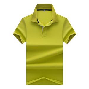 2018 mince modeles Hommes de plaid hit impression couleur de hommes a manches courtes revers shirt marque