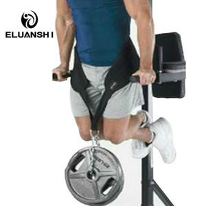 Pesos Cinto de Força Ginásio de construção de Aparelhos de Treinamento de fitness barra horizontal de boxe Preto colete de musculação acessórios