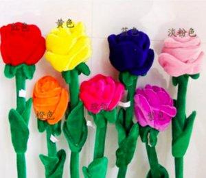 8 шт. / Лот занавес красивый плюшевый день рождения цветок подсолнечника детская пряжка плюшевая подарок занавес роза 62см свадьба мультфильм игрушка ngvuq