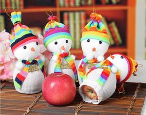 Noel Arifesi Kardan Adam Apple Çanta Noel Hediyeleri Çanta Elma Ambalaj Çanta Hediyeler Kutu Kardan Adam Bebek Noel Arifesi Elma Holeder