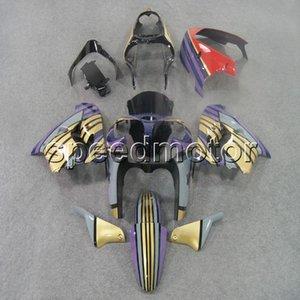 23colors + Gifts gold purple bodywork motocicleta Carenado para Kawasaki ZX9R 1998-1999 ZX-9R 98 99 kit de plástico ABS