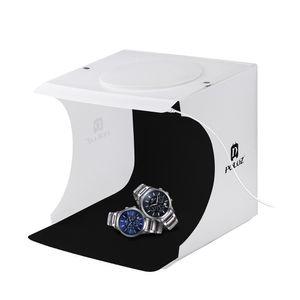 venta al por mayor portátil plegable Lightbox fotografía LED Light Room Photo Studio tienda ligera Soft Box contextos para cámara digital DSLR