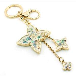 Homard Couleur Or JINGLANG Mode Métal Fermoir Porte-clefs Trèfle Charms porte-clés pour les femmes sac à main Bijoux