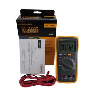 Fluke 18B + AC / DC 전압 전류 디지털 멀티 미터 디스플레이 4000 카운트