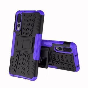 Custodia rigida robusta per armatura 3D Kickstand 3D per Huawei Honor 9i Nova 2i Mate10 Lite G10 P20 P20 Lite Nova 3E Honor V10 Honor 7X Mate SE
