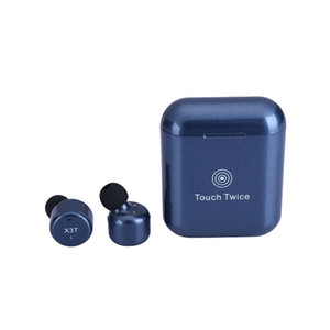 TWS X3T Wireless Bluetooth 4.2 Headset Earphone wtih Charger Box Bass X1t X2T Upgraded for iPhone Samsung Android