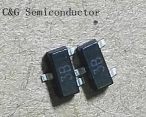 100pcs BC856B BC856 100pcs 0.1A 65V transistor SOT-23 PNP