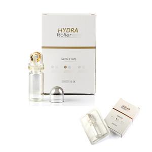 Hydra Rulo 64 pins Titanyum Microneedle Otomatik Hydra Derma Rulo 64 Altın İpuçları jel tüplü mikro iğneler