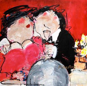lona do óleo artesanal pop barato pinturas de arte famosa pintura de óleo reprodução impressional pinturas das belas artes de decoração