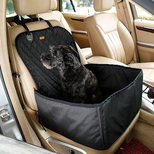 Toptan 2 for Dogs Köpek Araba Mat Köpek Carrier Seyahat Açık 1 Taşıyıcı Kepçe Basket Pet su geçirmez Kumaş Pet Oto Koltuğu içinde