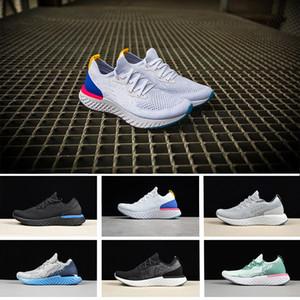 2018 Yeni Kadın Erkek Koşu Ayakkabıları React Anında Gitmek Için Gitmek Nefes Rahat Spor Satılık Erkekler Kadınlar Atletik Sneakers Boyutu 36-45