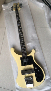 Free Shipping!Wholesale New Rick. 4 strings 4003 electric bass guitar In Cream. 180714