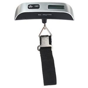 Hostweigh LCD Elektronik Ölçekli 50 kg Kapasiteli El Taşıma Bagaj Dijital Tartı Cihazı Termometre B