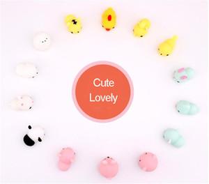 Kawaii Squishy Spremere Cartoon Animal Healing Fun Doll Carino Morbido Gatto Panda Coniglio Chickfor Allevia Lo Stress Ansia all'ingrosso Prezzo