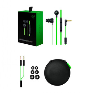 Razer Hammerhead Pro V2 наушники в ухо наушники с микрофоном с розничной коробке в ухо игровые гарнитуры DHL бесплатно