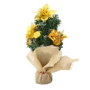 A decoração da decoração da árvore de Natal de Mini 25cm Xmas Ornaments a cor 3 criativa