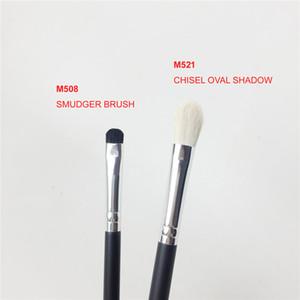Brosse à fards à paupières ovale MO-SERIES M508 Smudger / M521 Chisel - Trousse d'outils de qualité