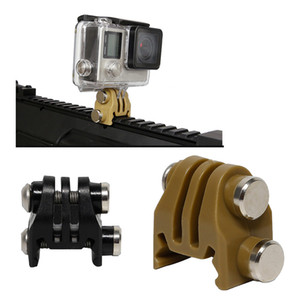 Açık Spor Aksesuar Ray adaptörü Taktik Dişli Helmtet Aksesuar Kask Ray Adaptörü Eylem Kamera NO01-154 için