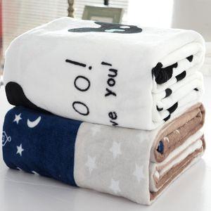 100X150 CM XINLANISNOW Renk Rastgele Ev Tekstili için Hava / Kanepe / Yatak Atar Flanel Battaniye Kış Sıcak Yumuşak Çarşaf