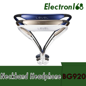 마이크 hifi handfree 스포츠 inear 귀마개를 가진 새로운 도착 EO-BG920 수준 U 이어폰 소형 neckband v4.2 csr 칩 음악 헤드폰