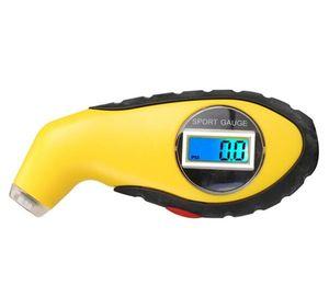 LCD Digital 5,0-100 PSI Hintergrundbeleuchtung TyreTester Manometer Barometer Werkzeug Für Auto Motorrad KPA BAR Luftdruckanzeige