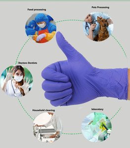 Free shipping 100 pieces Disposable Gloves Latex For Home Cleaning Disposable Food Gloves Cleaning Gloves Universal For Left and Right Hand