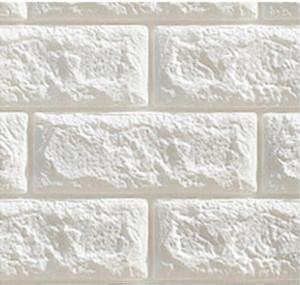 Brick Pattern Waterproof 3D Wallpaper Creative Self Adhesive Foam Cotton Wall Sticker Bedroom Living Room TV Wall Background Wallpapers