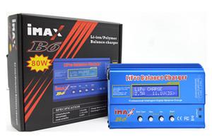 Aerops Envío gratis 80W IMAX B6 RC Equilibrio Lipo LiFe Cargador de batería Nimh Nicd Batería de litio UE / EE. UU. / Reino Unido / AU diseño de alimentación eléctrica