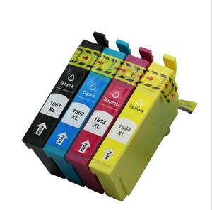 4pcs / set Epson ME-101 Cartouche d'encre 166 Imprimante ME-10 Cartouche d'encre compatible Cartouche d'encre T1661 T1663 T1664 1T662