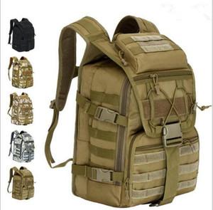 viagem à prova de água e ciclismo mochilas ao ar livre montanhismo pacote Camping Caminhadas Camouflage Bag Hunting Backpack Utility 40L militar