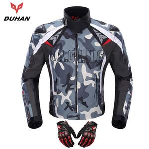 DUHAN Motocicleta Jaqueta de Corrida Off-Road Motocross Guards Roupas Camuflagem Liga Protetor de Ombro Moto d117