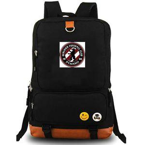BFC Dynamo sac à dos Grand sac à dos sac d'école de club de football équipe de football packsack Sac à dos Sport Cartable Outdoor daypack