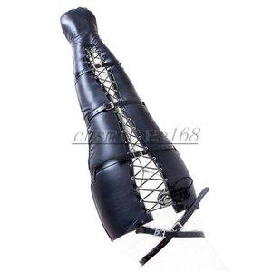 Cuoio Gamba Mummia Roleplay Regolatore Cosplay Body Harness Mermaid Binder # R32 Borsa Upft
