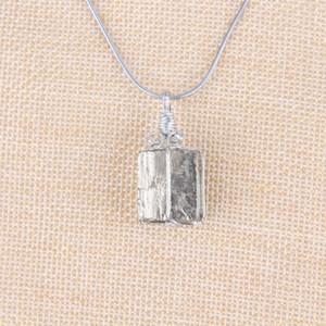 الطبيعية غير النظامية الذهبي البيريت قلادة قلادة الحجر الأصلي البايرايت شقرا شفاء كريستال بوينت قلادة