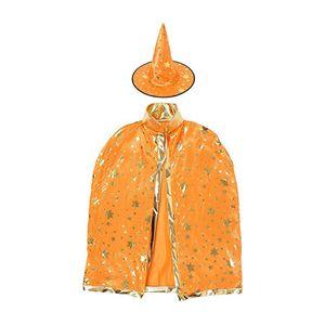 7 couleurs nouveau mode mignon halloween étoiles à cinq branches costumes magicien sorcière chapeau parti cosplay accessoires chapeaux clairs pour enfants clacks