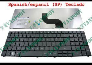Новый портативный ноутбук клавиатура для Gateway NV53A NV55C NV59 NV59C серии Черный испанский/испанский (СП) Эс абсолютно новый - V104730DK2 СП