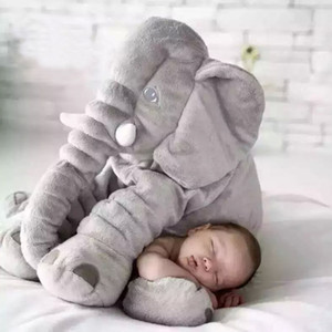 Новый Ребенок Слон Мягкие Автомобильные Детские Подушки Сна Складная Детская Кровать Детская Кроватка Подушка Сиденья Дети Портативный Кровать Постельные Принадлежности