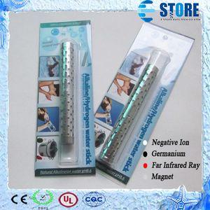Bâton de l'eau alcaline d'hydrogène en acier inoxydable Bâtons d'eau de l'énergie Bâton de l'eau alcaline minérale naturelle avec le paquet 10pcs