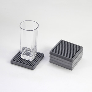 Basit endüstriyel rüzgar beton çimento bardak ve yastık yalıtım mat kahve fincanı yastık yaratıcı çay bardağı tepsisi silikon kalıp