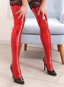 본디지 레이스 스트레칭 레이스 스타킹 롤 플레잉 에로틱 양말 페티시어 슬레이브 여성 속옷 성인 게임 여자 스타킹