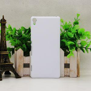 Für sony c3 / c4 / c5 / xa ultra / xa2 ultra / x / xa / m2 / m4 sublimation 3d handy glänzend matt case transferpresse telefon abdeckung