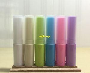 50pcs lot 4g Empty Lipstick Tube Plastic Lip Balm Container Small Cosmetic 4ml Lip stick Gloss bottle