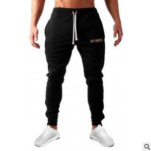 2018 Newest Mens Sweatpants Autumn Winter Man Gyms Fitness Bodybuilding Joggers workout trousers Male Casual letter Pencil Pants